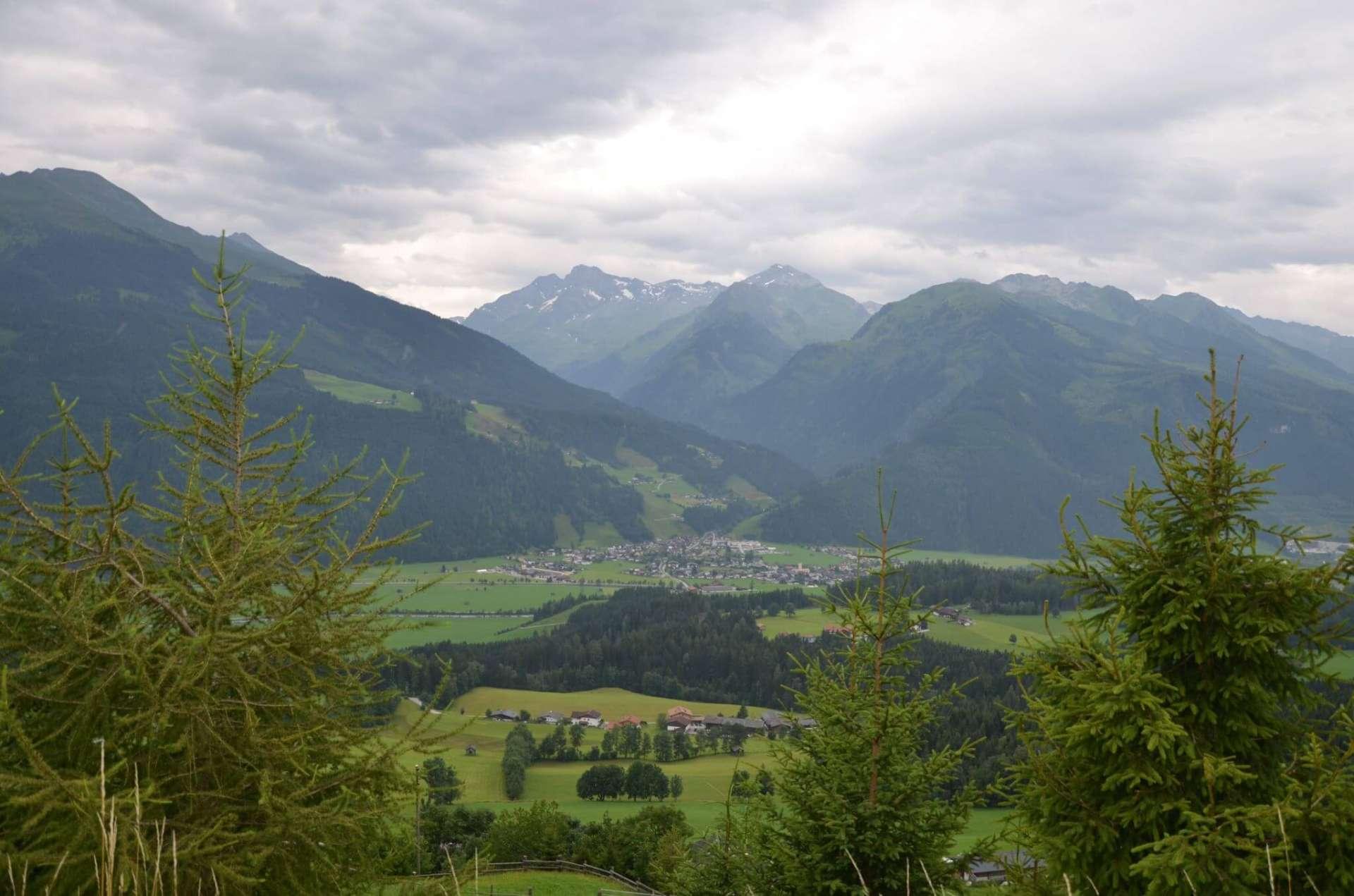 Blick nach Hollersbach