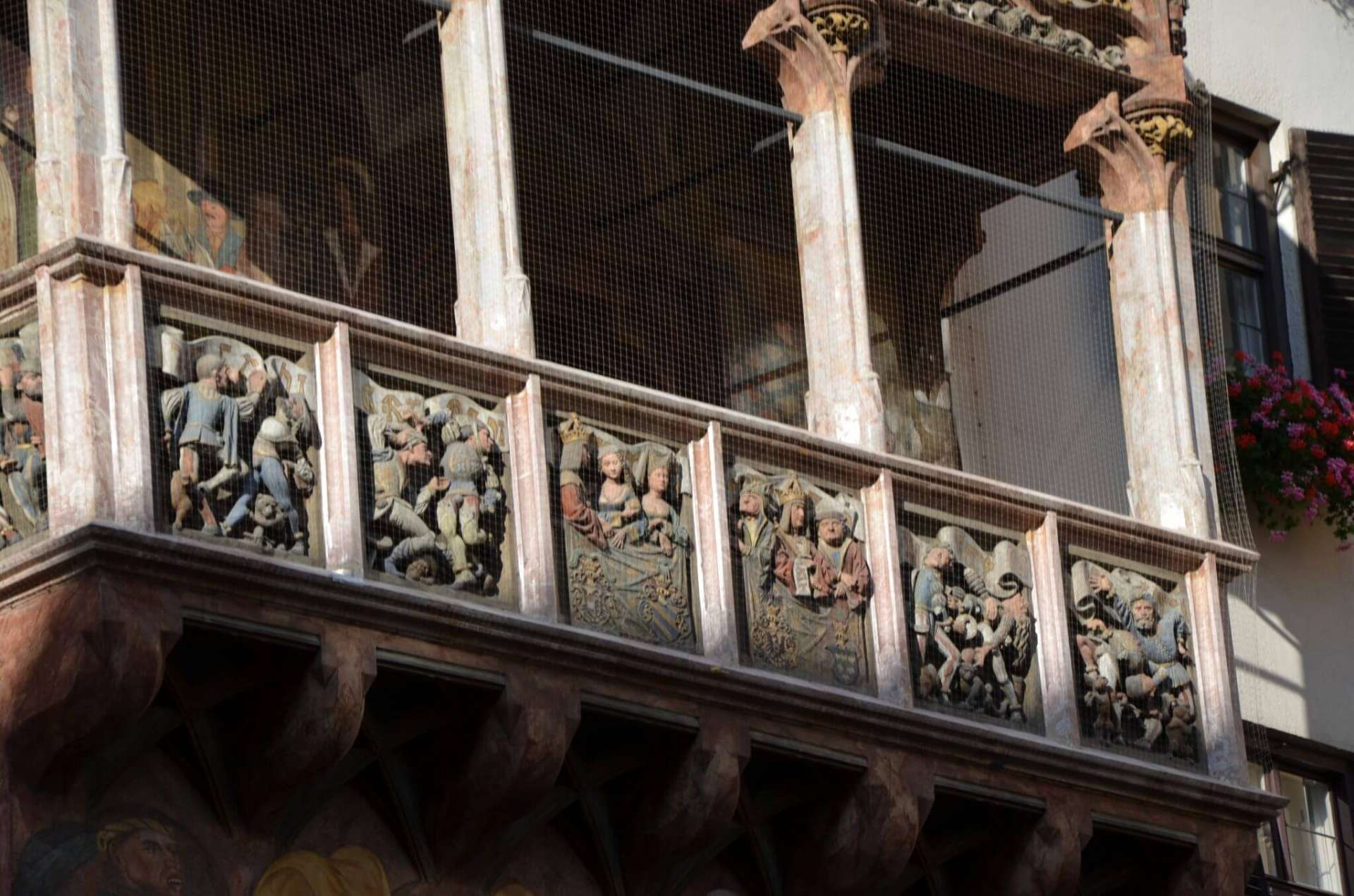Detail Goldenes Dachl
