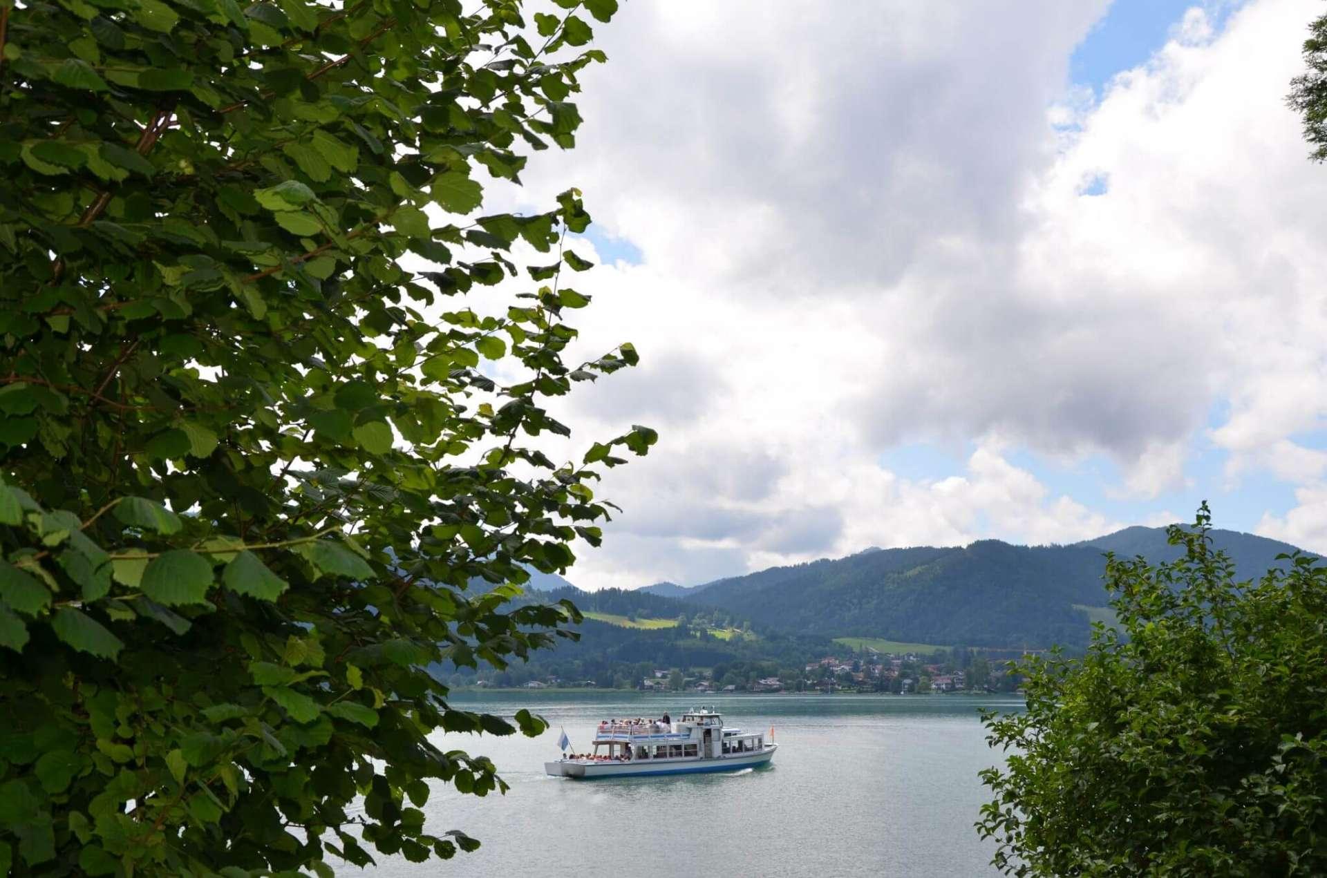 Schiff am Tegernsee